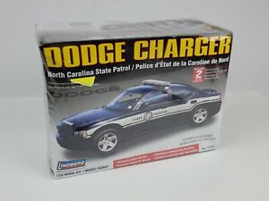 Lindberg 1/24 72782 Dodge Charger North Carolina State Patrol Model Kit NEW
