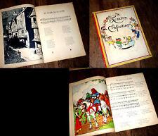 chansons enfantines du bon vieux temps recueillies harmonisées 1937 F. de Bardy