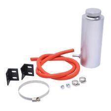 Aluminum Overflow Coolant Tank Reservoir Cooling Radiator Catch Chrome