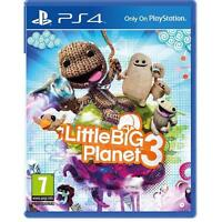LittleBigPlanet 3 PS4 - 7 Plus Kids PlayStation 4 Little Big Planet NEW SEALED