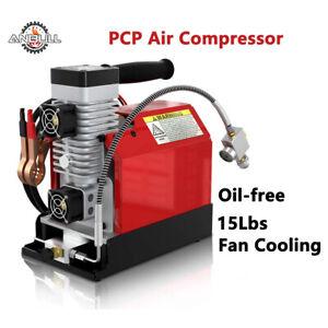 Portable Air Compressor Oil Free 300 Bar 4500 Psi Scuba PCP Paintball Tank Refil