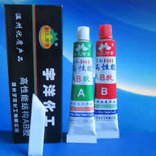 2pcs Super Strong Epoxy Epoxies Clear Glue Adhesives A+B For Metal Plastic Wood