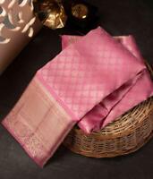 Saree Sari Designer Bollywood Silk Sari Traditional Kanchipuram Indian Wear KP