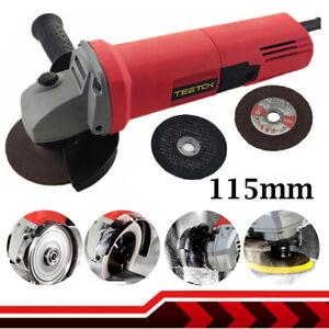"Angle Grinder 115mm 4.5"" 850W 11000rpm Electric Grinding Sander Polisher Corded"