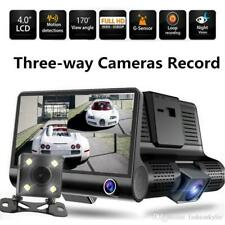 "4"" Dual Lens 1080P HD Car DVR Rear view Video Dash Cam Recorder Camera G-sensor"