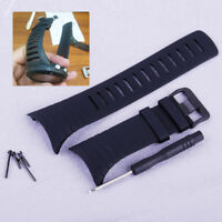 Gummi Uhrenarmband Uhr Band Armband & Werkzeuge Satz für Suunto Core SS014993000
