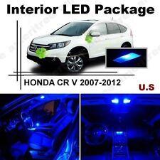Blue LED Lights Interior Package Kit for Honda CRV 2007-2012 ( 6 Pieces )