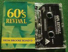 60s Revival Dixi Cups Carol King Beach Boys + Brook Bond Cassette Tape - TESTED