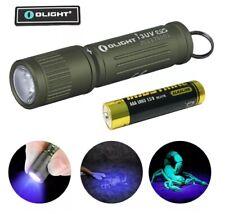 OLIGHT I3 UV EOS High efficiency 395nm Ultraviolet LED Flashlight w/ AAA battery