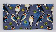 Kookaburra Birds Fabric Handmade Pencil Case Make Up Bag Storage Pouch