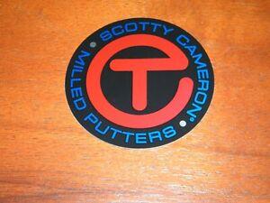 NEWScotty Cameron 2021 US Open Sticker Circle T Red/Black/Blue Sticker