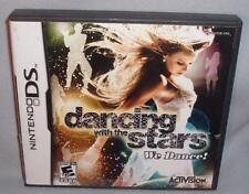 GAME NINTENDO DS DANCING WITH THE STARS We Dance! DSi NDS lite ds i dsixl xl 3DS