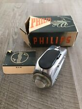 Vintage 1940s Philips WW11 Era Pocket Dynamo Hand Held Torch Type 7424