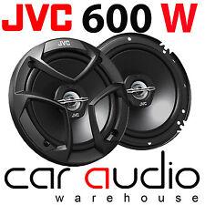 "JVC CS-J620 6.5"" 16cm 2 Way 600 Watts Car Van Door Coaxial Speakers Pair Grilles"