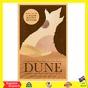 Dune By Frank Herbert - Paperback Book - BRAND NEW - FAST FREE SHIPPING AU