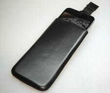 Echt Leder Hülle für Apple iPhone 6 6S 7 8 Echtleder Real Leather Ledertasche