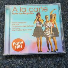 A la Carte - Have you forgotten/ Best of CD GERMANY