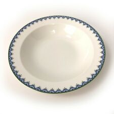 "Villeroy & Boch Casa Look Pattern 7-3/4"" Bowl Salad Cereal Wide Rim Blue Green"