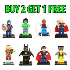 Marvel DC Minifigures Avengers Super Hero Mini Figures Compatible with Lego