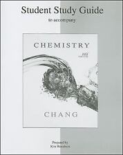 Student Study Guide to accompany Chemistry by Chang, Raymond