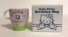 SANRIO, HELLO KITTY BIRTHDAY AND HOROSCOPE CERAMIC MUG WITH BOX, GEMINI JUNE 8