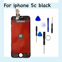 NEW Assembly -UK-and  Dispatch Black For iPhone5C LCD & Touch Screen Digitizer
