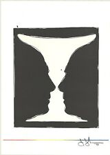 Jasper Johns Original Lithograph Cup Two Picasso First Edition Ltd Mourlot 1973