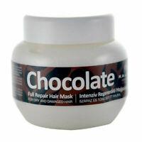 Chocolate Full Repair Hair Mask Dry Damage Treatment Bright Shiny Scalp 275 ml