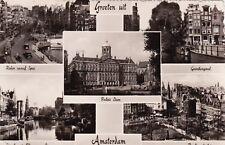 NETHERLANDS - Amsterdam - Views - Echte Foto 1957