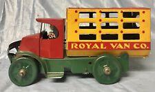 Marx 1920's Marx Tin Windup Mack Royal Van Truck