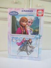 ♥ Deux Puzzles Neuf Sous Blister Disney La Reine Des Neiges