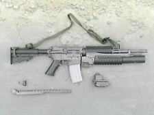 1/6 scale toy Grey M4 Carbine w/M203 Grenade Launcher