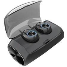 New Unbranded Black V6 Tws Wireless Sport Bluetooth 5.0 Headphones EarBuds w Mic
