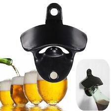 Convenient Stainless Steel Wall Mount Bar Beer Soda Glass Cap Bottle Opener 3C