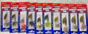 (10) Worden's Original Rooster Tail 1/6 1/8 1/16oz Inline Spinners All New BGH