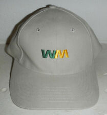 Waste Management WM Trash Company Logo Baseball Hat Cap
