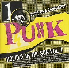 PUNK - VOICE OF A GENERATION - HOLIDAY IN THE SUN VOL. I / CD - TOP-ZUSTAND