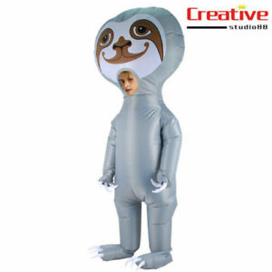 US! Adults Giant Sloth Inflatable Halloween Party Fancy Funny Cosplay Costume