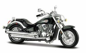 MAISTO 1:18  Kawasaki Vulcan 2000 MOTORCYCLE BIKE DIECAST MODEL NEW IN BOX Hot
