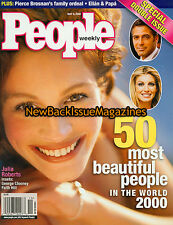 People 5/00,50 Most Beautiful People in the World 2000,Julia Roberts,NEW