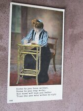 HCL Limerick Greeting Postcard - Writing letters