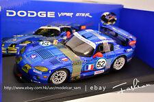 Autoart 1/18 Dodge VIPER GTS-R  LM GTS France 24H 2002 #52