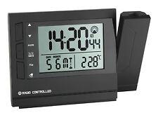 B-Ware Réveil radio-piloté à projection TFA 60.5008 Radio-réveil température