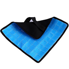 No Sweat Cool Gel Pad for the Back Cushion Car Cooling Seat Auto Bed Pillow Sofa