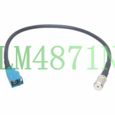 Car Stereo Fakra Z Jack to ISO Female Antenna Adapter RG58 1FT Cable Audi Ford