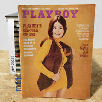 Playboy magazine October 1972 Sharon Johansen bunnies of 1972 Pentagon Papers