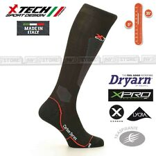 Calze XTECH Tecniche X-TECH SPORT Carbon 2.0 Dryarn Resistex XPro Made in Italy