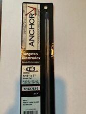 Anchor 1/16'' X 7'' Ground Finish E3 Tungsten Electrode (3 Per Card)