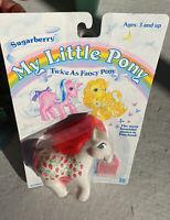 G1 My Little Pony Twice As Fancy Pony - Sugarberry  MOC Vintage TAF