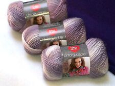NEW Red Heart Boutique Unforgettable Yarn 3- 3.5oz. Skeins Same Dye Lot PEARLY
